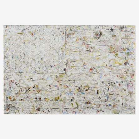 Vik Muniz, 'White Flag, after Jasper Johns (from Pictures of Magazines 2)', 2012