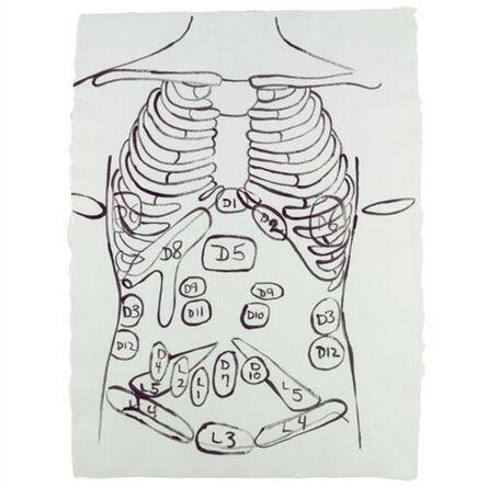 Andy Warhol, 'Physiological Diagram', 1985-86
