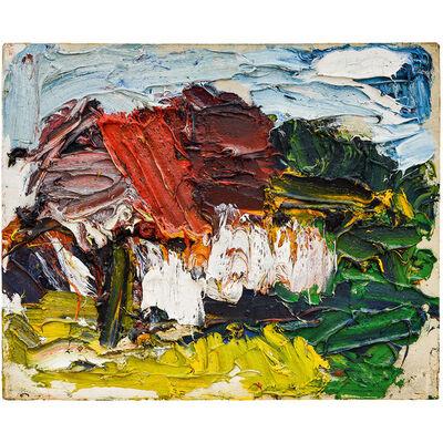 """Franz Grabmayr, 'Franz Grabmayr """"Haus"""" Oil on canvas 1987', 1987"""