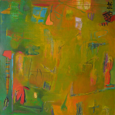 Beverly Brodsky, 'Blue Window'