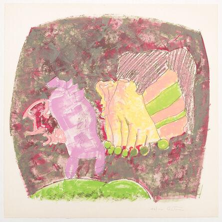 John Altoon, 'About Women (03)', 1966