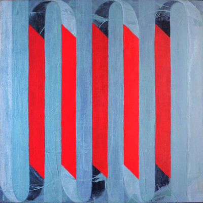 Catherine Gontarek, 'Ribbon Red', 2018