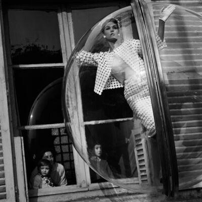 Melvin Sokolsky, 'Faces in Window, Paris', 1963