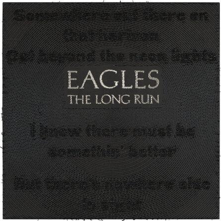 Stephen Wilson, 'The Long Run, Eagles ', 2019