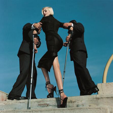 Helmut Newton, 'High & Mighty Shoot, American Vogue', 1995