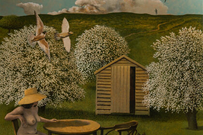 David Inshaw  Never and Always: recent paintings and works on paper