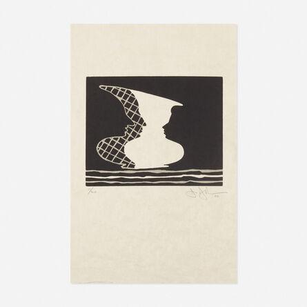 Jasper Johns, 'Sun on Six', 2000
