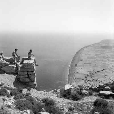 Robert McCabe, 'Thera, View to Perissa from the Site of Ancient Thera', 1961