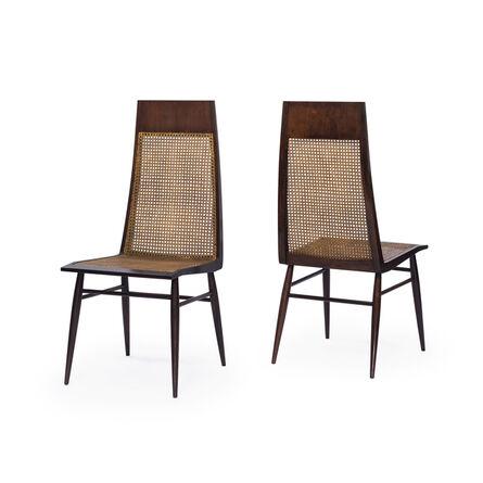Joaquim Tenreiro, 'High back curved chairs', ca. 1960