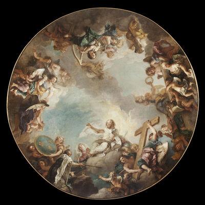 Charles de La Fosse, 'L'Apothéose de Saint Louis (The Apotheosis of Saint Louis)'