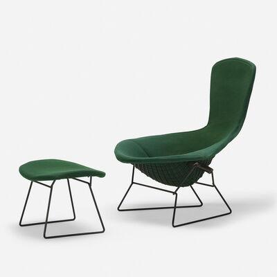 Harry Bertoia, 'Bird chair and ottoman', c. 1952 / 1965