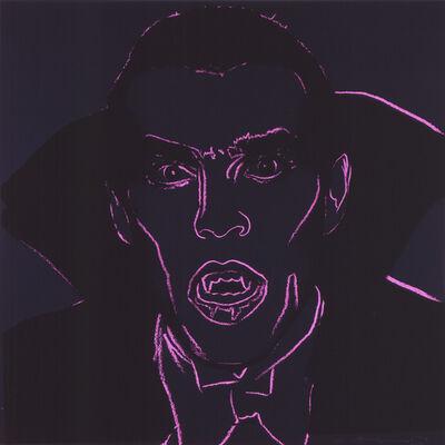 """Andy Warhol, 'Dracula from """"Myths"""" portfolio', 1980"""