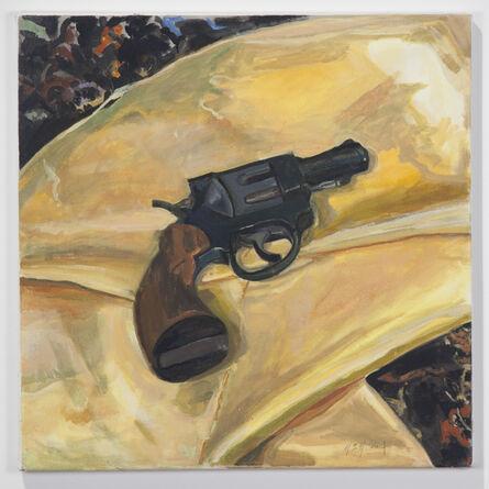 Margaret Harrison, 'Beautiful Ugly Violence (Gun)', 2003
