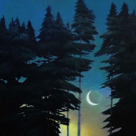 Greg Mort, 'Pre-Dawn Moon', 2017