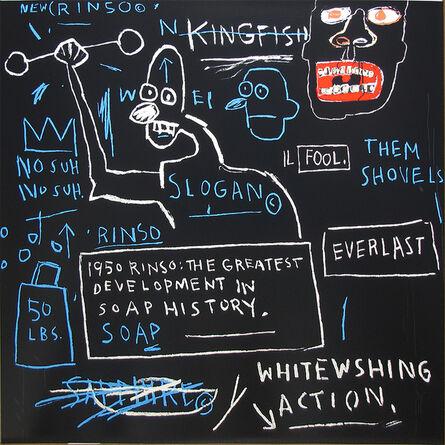 Jean-Michel Basquiat, 'Untitled (Rinso)', 1982