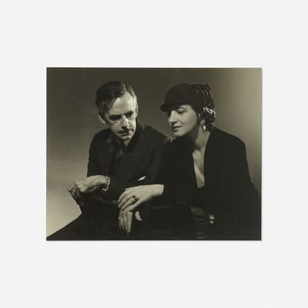 Edward Steichen, 'Eugene and Carlotta O'Neill (for Vanity Fair)', c. 1932