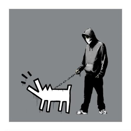 Banksy, 'Choose Your Weapon (Cool Grey)', 2010