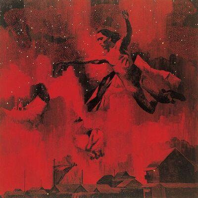 Tadanori Yokoo, 'Man Flying into the Stars', 1996