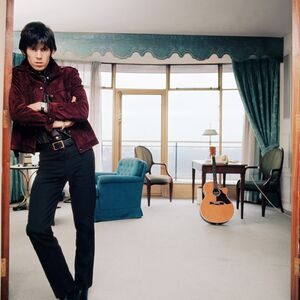 Bent Rej, 'Keith Richards at Home I, London, 1965', 1965