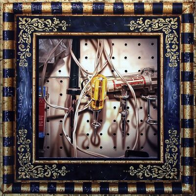 John Hall, 'Framed: Yellow Punch', 2016