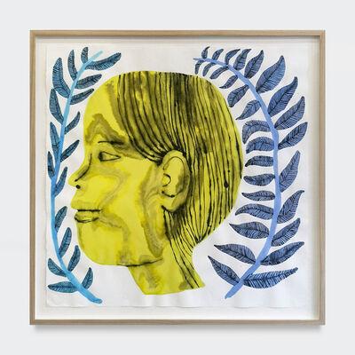 Emma Kohlmann, 'Yellow Profile', 2021