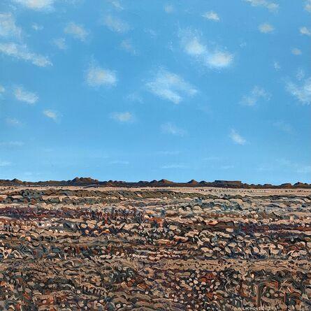 Bruce Backhouse, 'Red Karoo Mountains', 2016