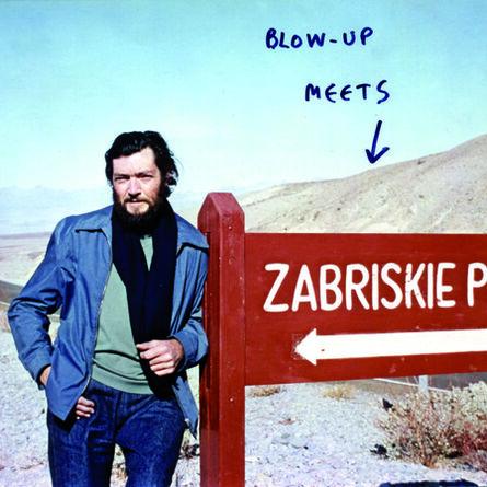 Michelangelo Antonioni, 'Postcard Julio Cortazar at Zabriskie Point', 1976