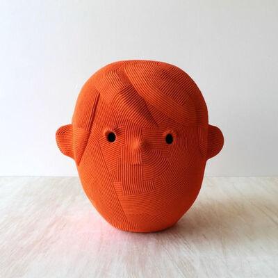 En Iwamura, 'Orange Head', 2018