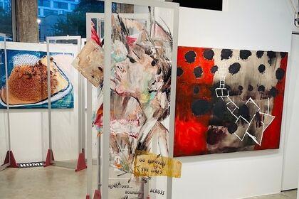 Hopscotch   Visual Artists Marsha Nouritza Odabashian and Jennifer Jean Okumura together with Poets Nancy Agabian and Celeste Nazeli Snowber