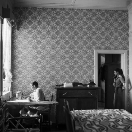 David Goldblatt, 'In the Docrat living room before its destruction under the Group Areas Act, 20th Street, Fietas, Johannesburg. 1977', 1977