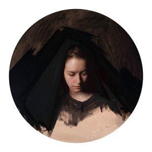 Jordan Sokol, 'Woman With Black Fabric', 2019