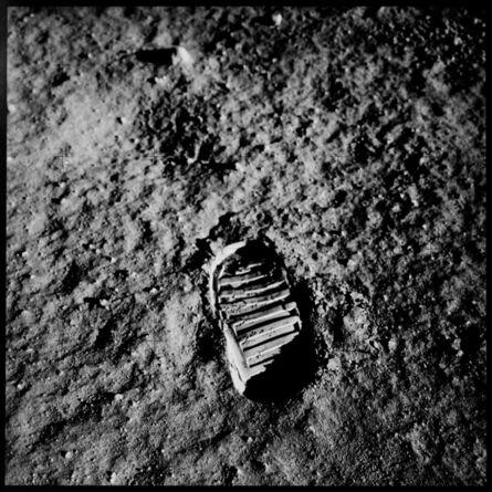 Michael Light, 'Aldrin's boot print, Apollo 11', 1969/1999