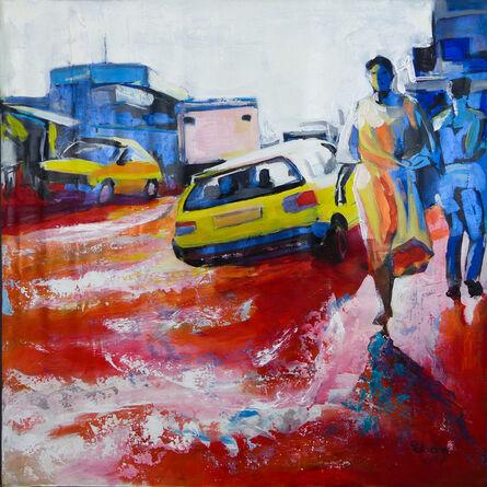 Rostand Pokam, 'Water Road', 2017