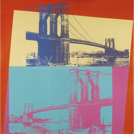 Andy Warhol, 'Brooklyn Bridge (FS II.290)', 1983