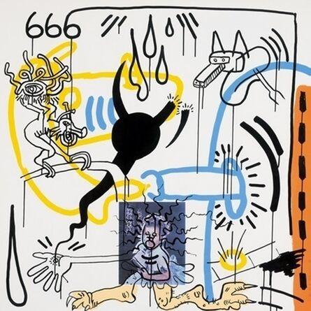 Keith Haring, 'APOCALYPSE VIII', 1988