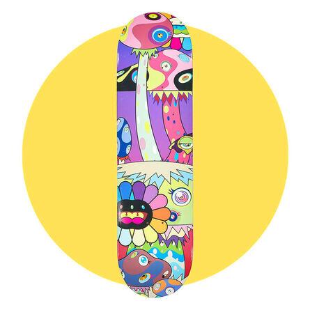 Takashi Murakami, 'Takashi Murakami Skateboard Deck', 2019