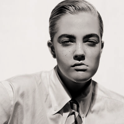 Matthew Rolston, 'Drew Barrymore (Portrait as aBoy)', 1991