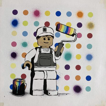 Ame72, 'Spot Painter', 2020