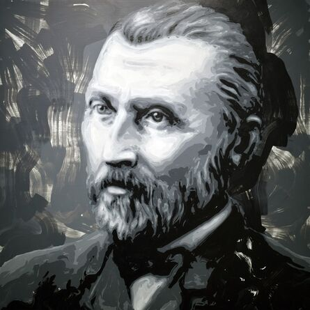 Rob and Nick Carter, 'Vincent van Gogh Robot Painting, Painting time: 29:34:45 Stroke count: 11242 17-21 February 2020', 2020