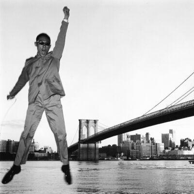 Tseng Kwong Chi, 'New York, New York (Brooklyn Bridge)', 1979