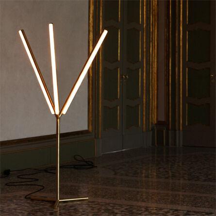 Michael Anastassiades, 'Lit Lines, Floor Light 1', 2011