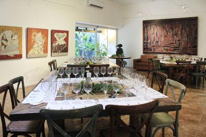 Irma Gutiérrez Exhibition and Wine Tasting