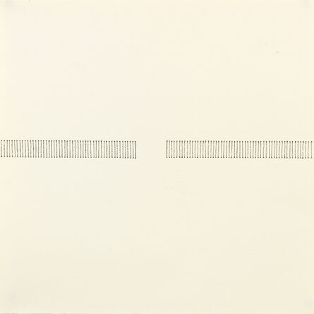 Edda Renouf, 'Entrance with incised Lines; Autumn Series I   ', 2013