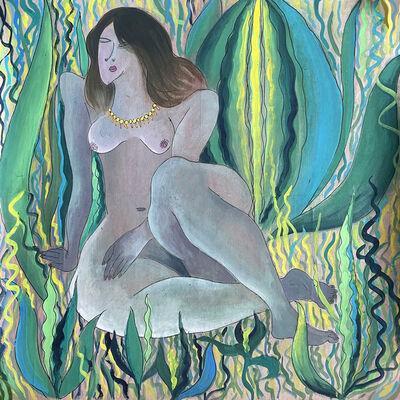 Lucy Y F Chen, 'Nude Decor No. 4', 1993
