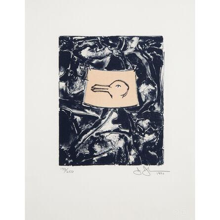 """Jasper Johns, 'Untitled From """"Harvey Gantt Portfolio""""', 1990"""