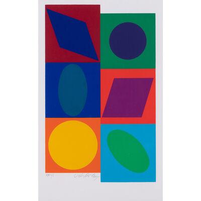 Victor Vasarely, 'Marsan II', circa 1980