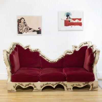 Elizabeth Garouste and Mattia Bonetti, 'Maharajah Sofa', 1991