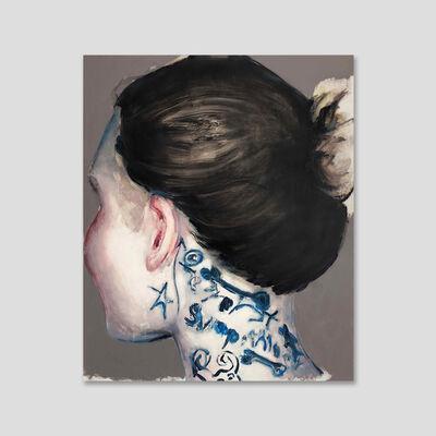 Tomas Harker, 'Neck Tattoo', 2019