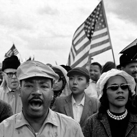 Silin Liu 刘思麟, 'Martin Luther King & Celine Liu ', 2015