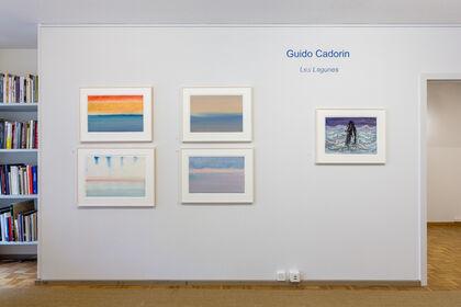 """Guido Cadorin, """"Les Lagunes"""", gouaches"""